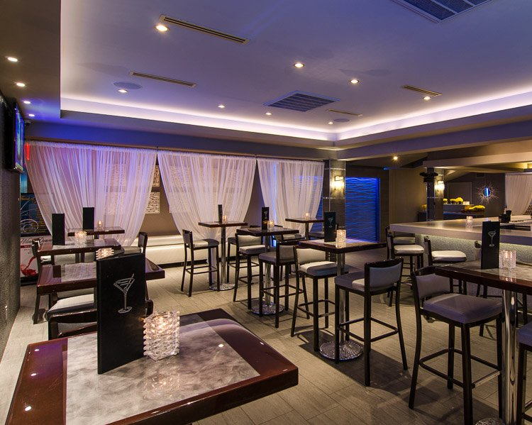 Marina Cafe bar seating