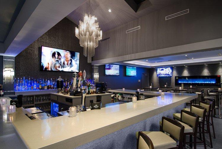 Marina Cafe bar area