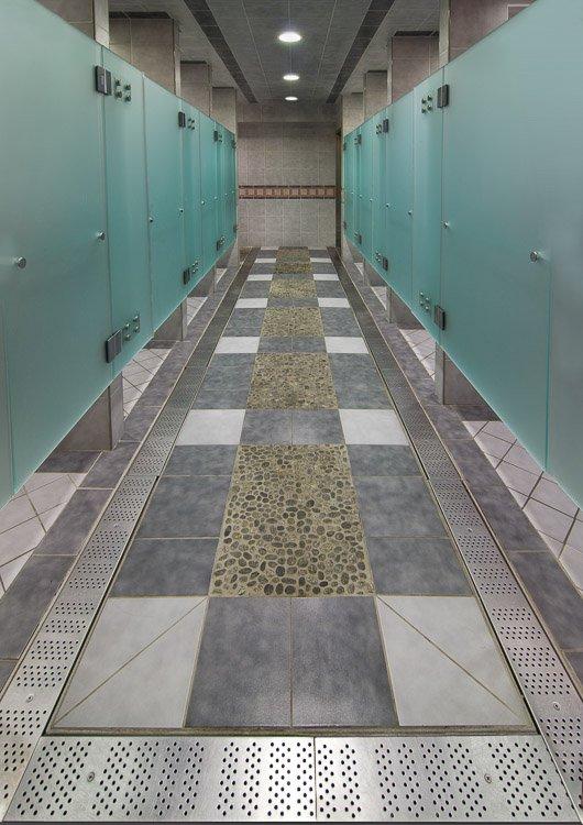 Staten Island YMCA locker room