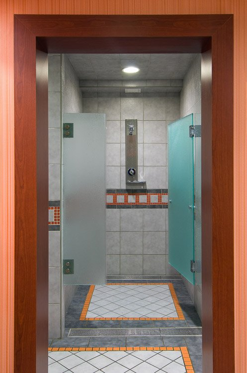 Staten Island YMCA shower